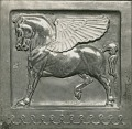 View Winged Horse Relief [sculpture] / (photographer unknown) digital asset number 0