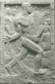 View Sansanelli Memorial (relief panel) [sculpture] / (photographed by De Witt Ward) digital asset number 0