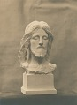 View Head of Christ (Phillips Brooks Monument) (front view) [sculpture] / (photographed by De Witt Ward) digital asset number 0
