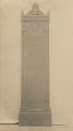 View Whistler Memorial [sculpture] / (photographed by De Witt Ward) digital asset number 0