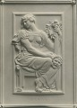 View Model for Gould Memorial Library Doors: Drama [sculpture] / (photographed by De Witt Ward) digital asset number 0