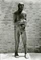 View Man with a Dead Bird [sculpture] / (photographer Soichi Sunami) digital asset number 0