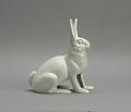 "View <I>Statue, ""Wide-Awake Rabbit""</I> digital asset number 0"