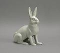 "View <I>Statue, ""Wide-Awake Rabbit""</I> digital asset number 1"