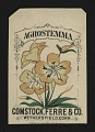View <I>Seed packet, Comstock, Ferre, & Co., agrostemma flower</I> digital asset number 0