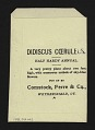 View <I>Seed packet, Comstock, Ferre, & Co., didiscus flower</I> digital asset number 1