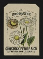 View <I>Seed packet, Comstock, Ferre, & Co., rhodanthe</I> digital asset number 0