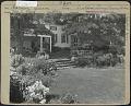 View [Clark Garden]: Terrace, outdoor living room area digital asset: [Clark Garden] [photoprint]