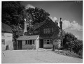View [Miscellaneous Sites in Shere, Surrey, England, and Vicinity, Series 1]: an unidentified house and outbuilding. digital asset: [Miscellaneous Sites in Shere, Surrey, England, and Vicinity, Series 1] [glass negatives]: an unidentified house and outbuilding.