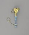 View <I>Bouquet holder, leaves, blue handle</I> digital asset number 1