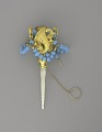 View <I>Bouquet holder, blue beads, mother of pearl handle</I> digital asset number 0