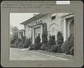 View Unidentified Garden in Ridgewood, New Jersey: Evergreen foundation planting digital asset: Unidentified Garden in Ridgewood, New Jersey [photoprint]