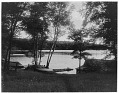 View [Miscellaneous Sites in the Adirondack Mountains]: the Crescent Bay area on Lower Saranac Lake. digital asset: [Miscellaneous Sites in the Adirondack Mountains] [glass negatives]: the Crescent Bay area on Lower Saranac Lake.