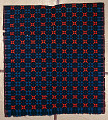 View Geometric double-cloth coverlet; 1800-1850; Pennsylvania digital asset number 0