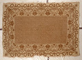 View Jacquard carpet or coverlet; 1875-1914; possibly New York or Europe digital asset number 0