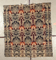 View Richard Waters; coverlet; Figured and Fancy; double-cloth; 1840; Ohio digital asset number 0