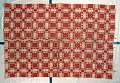 View Clarrisa Champion Smith and Charity Vosburgh Mihan; Overshot coverlet; 1830-1840; Chatham, New York digital asset number 0
