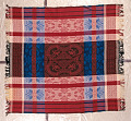 View Jacquard-woven tablecloth; 1850-1880; USA digital asset number 0