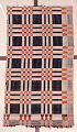 View Panel of an overshot coverlet; Pennsylvania; 19th century digital asset number 0