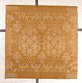 View James Cunningham; damask tablecloth; 1846; New York digital asset number 0