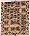 View coverlet; Figured and Fancy; double-cloth; 1829; New York digital asset number 0