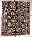 View coverlet; Figured and Fancy, tied-Beiderwand; c. 1840-1850; New York digital asset number 0