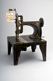 View 1851 - Isaac Singer's Sewing Machine Patent Model digital asset: Patent model, Singer sewing machine