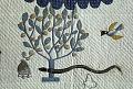 """View 1850 - 1900 Sylvia S. Queen's """"Garden of Eden"""" Quilt digital asset: Detail of Sylvia S. Queen's 'Garden of Eden' Quilt"""