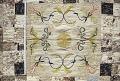 View 1785 - 1800 White Family's Framed Medallion Embroidered Quilt digital asset number 3