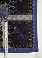 View 1897 - 1929 Edna Force Davis's Wool Crazy-patchwork Parlor Throw digital asset: Detail of above