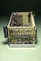 View Logic Unit for the Green Machine, A Prototype Desktop Electronic Calculator digital asset: Logic Unit for Osborne's  Prototype Electronic Calculator, Side