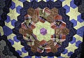 View 1840 - 1860 Hexagon Silk Quilt digital asset: Detail