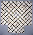 """View 1790 - 1810 Copp Family's """"Nine-patch"""" Pieced Quilt digital asset number 0"""