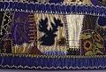 View 1886 J.A.L.'s Crazy-patch Parlor Throw digital asset: Detail - Moose