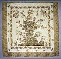 View 1825 - 1850 Flowering Tree Appliqued Quilt digital asset number 0