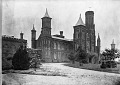View Smithsonian Institution Building, North Facade, c. 1860 digital asset number 0