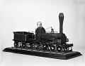 View Model of the 1839 Steam Locomotive, <i>Gowan & Marx</i> digital asset number 0