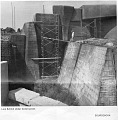 """View Folders 4-7 Correspondence and memoranda, 1969-1976 digital asset: Sourcebook, October 1974 - Louisville Zoo, """"Lion Exhibit Under Construction"""""""
