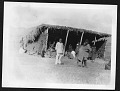 View Smithsonian-Chrysler Expedition to East Africa, 1926 digital asset: People in and around a shelter, 1926 [Image No. SIA2008-2302]