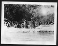 View Smithsonian-Chrysler Expedition to East Africa, 1926 digital asset: Men near river bank, 1926 [Image No. SIA2008-2308]
