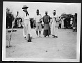 View Smithsonian-Chrysler Expedition to East Africa, 1926 digital asset: Men standing around small animal, 1926 [Image No. SIA2008-2311]