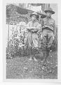 View Folder 1 Photographs, c. 1916-1960s digital asset: Herbert G. Deignan as a boy (right), circa 1916-1917. [Image no. SIA2008-2373]