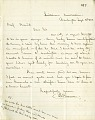 View Letter from Solomon G. Brown to S. F. Baird September 4, 1862 digital asset number 1