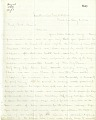 View Letter from Solomon G. Brown to S. F. Baird, August 6, 1864 digital asset number 0