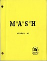 """View Curatorial Records digital asset: Cover - Booklet on the history of the television series MASH printed by 20th Century Fox. The booklet was used to plan the exhibit """"MASH: Binding Up the Wounds"""" which opened at the National Museum of American History in 1983. [Image no. SIA2011-1341]"""