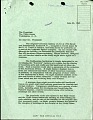 View Letter S. D. Ripley to Lyndon Johnson, June 22, 1965 digital asset number 0