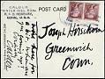 View Postcard to Joseph Hirshhorn digital asset number 1