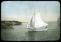 View Mexico, c. 1890s-1900s - Unidentified (19 glass plate negatives) digital asset: Sail Boat [Image no. SIA2011-2071]