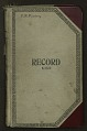 View Collection number book, nos. 15800-18199, Sept. 1938 – May 1941 digital asset number 0