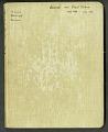 View Journal of Richard E. Blackwelder, West Indies, vol. 4 digital asset number 0